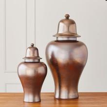 See Details - Japan Ginger Jar-Bronze-Lg