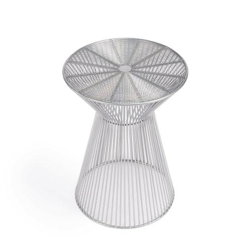 Butler Specialty Company - An irresistible design aesthetic, this End Table spreads out strands of iron from the smallest band of three ™ the waist band ™ to create the illusion of a human silhouette. It's guaranteed to add excitement and enhance the look of most any modern space.