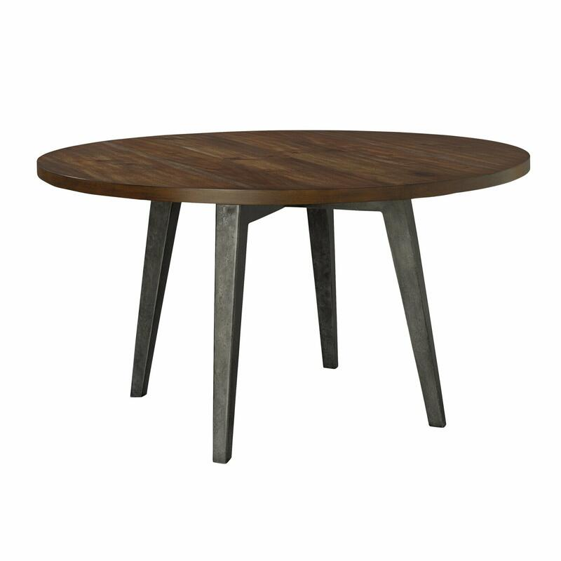 "2-4319 Monterey Point 48"" Round Splayed Leg Dining Table"
