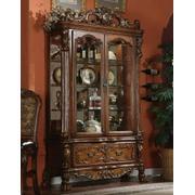 ACME Dresden Curio Cabinet - 12158 - Cherry Oak Product Image