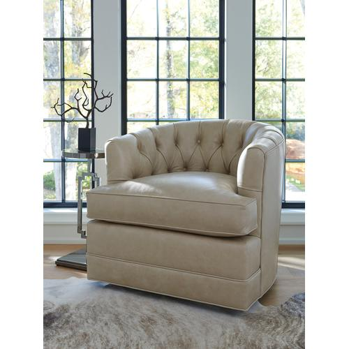 Cliffhaven Leather Swivel Chair