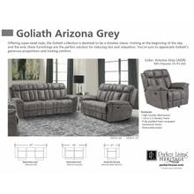 GOLIATH ARIZONA GREY Manual Loveseat