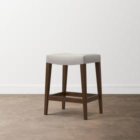 Custom Dining Bar Saddle Stool