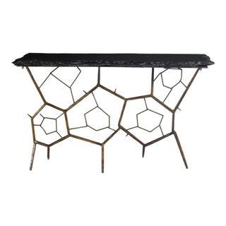 Nate Slate Sofa Table