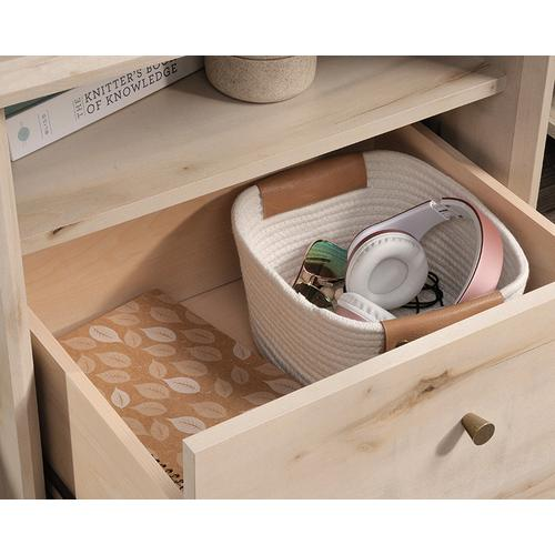 Product Image - 1-Drawer Night Stand with Open Shelf Storage
