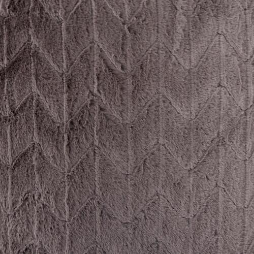 Howard Elliott - Scroll Puff Ottoman Angora Stone