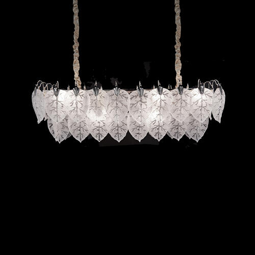 Autumn Rectangular Light Chandelier