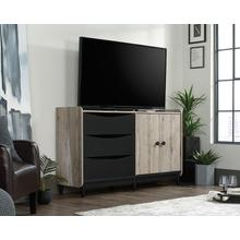 TV & Media Credenza with Drawers