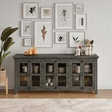 View Product - Rustic Shores 6 Door Low Cabinet