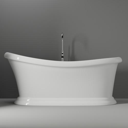 "Mallory 68"" Acrylic Slipper Tub"