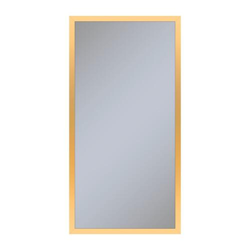 """Profiles 15-1/4"""" X 30"""" X 6"""" Framed Cabinet In Matte Gold and Non-electric With Reversible Hinge (non-handed)"""