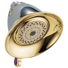 See Details - Chrome / Brass Premium 3-Setting Shower Head