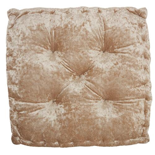"Life Styles L0225 Beige 24"" X 24"" X 4"" Throw Pillow"
