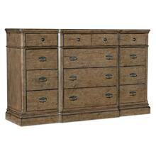 Bedroom Montebello Twelve-Drawer Dresser