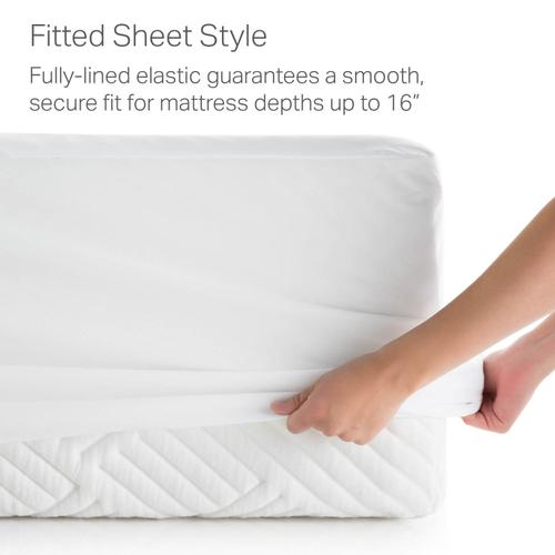 Weekender Hotel-Grade 5-Sided Mattress Protector, Cal King