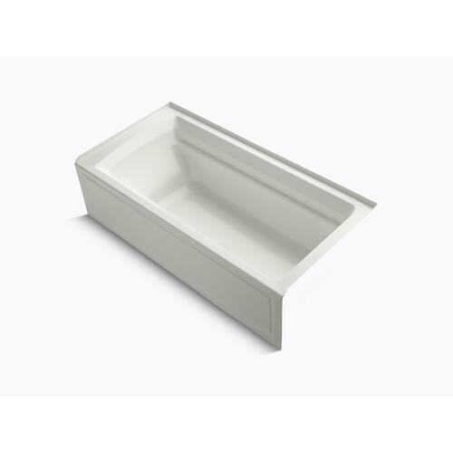 """Dune 72"""" X 36"""" Alcove Bath With Bask Heated Surface, Integral Apron, and Right-hand Drain"""