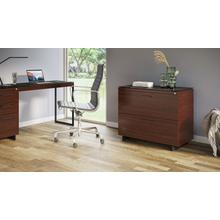 View Product - Sequel 20 6116 Lateral File Cabinet in Chocolate Walnut Black