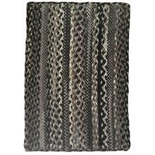 "Affinity Coal - Vertical Stripe Rectangle - 20"" x 30"""