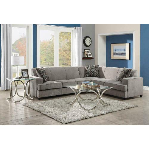 Product Image - Tess Casual Grey Sectional