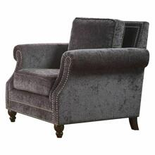 ACME Ilex Chair - 50292 - Gray Chenille