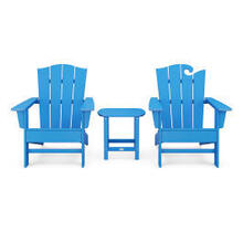View Product - Wave Collection 3-Piece Set in Vintage Pacific Blue