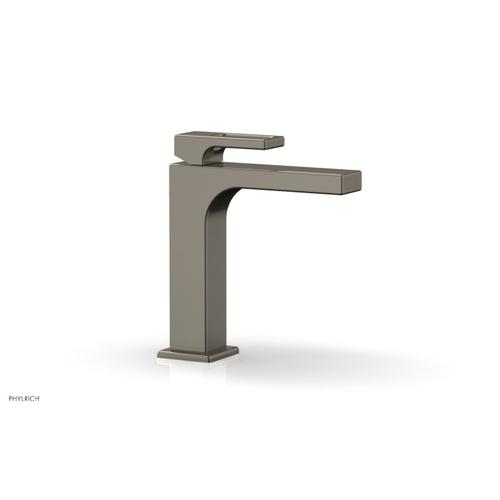 MIX Single Hole Lavatory Faucet, Ring Handle 290-07 - Pewter