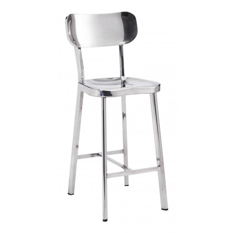 Winter Counter Chair Polished Ss