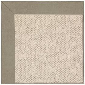 """Creative Concepts-White Wicker Canvas Taupe - Rectangle - 24"""" x 36"""""""
