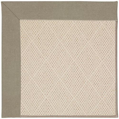 "Creative Concepts-White Wicker Canvas Taupe - Rectangle - 24"" x 36"""