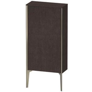 Semi-tall Cabinet Floorstanding, Brushed Dark Oak (real Wood Veneer)
