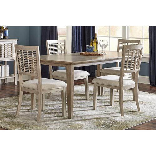 Ocala 5-piece Extension Rectangle Dining Set