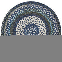 Wanderer Deep Blue Braided Rugs