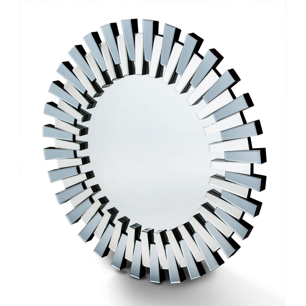 Round Facet Mirror