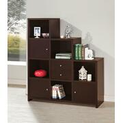 Contemporary Cappuccino Bookcase Product Image
