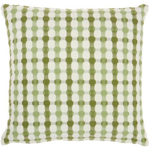 "Life Styles Ss911 Green 18"" X 18"" Throw Pillow"
