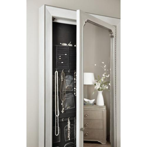 Bedroom Modern Romance Floor Mirror w/jewelry storage