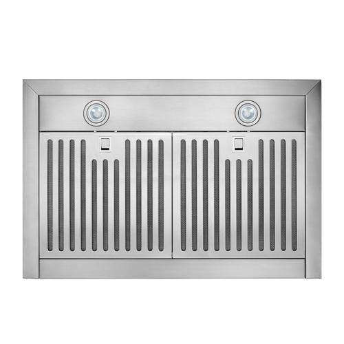Broan® 30-Inch Convertible Wall-Mount Pyramidal Chimney Range Hood, 450 MAX CFM, Stainless Steel