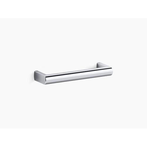"Vibrant Brushed Nickel 5"" Drawer Pull"