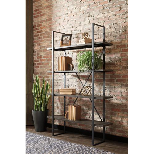 Bookcase Black/Grey