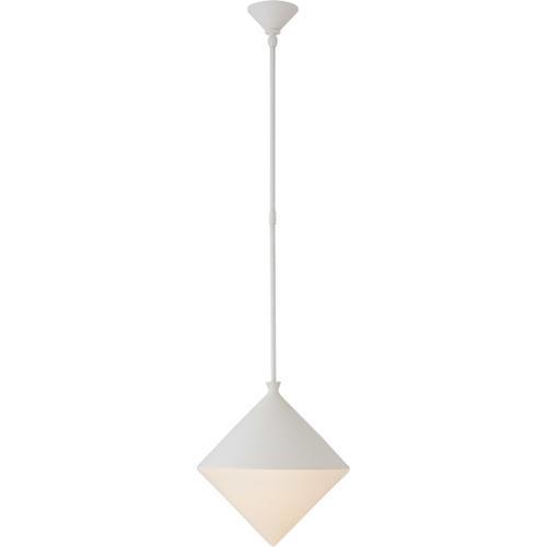 AERIN Sarnen LED 15 inch Matte White Pendant Ceiling Light, Medium