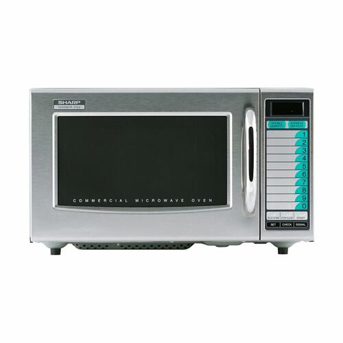 Sharp - Medium-Duty Commercial Microwave Oven with 1000 Watts