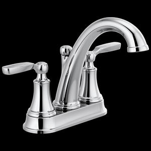Chrome Bathroom Faucet Product Image