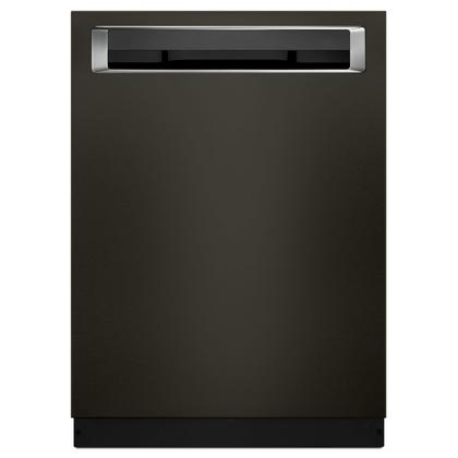 44 DBA Dishwashers with Clean Water Wash System and PrintShield Finish, Pocket Handle Black Stainless Steel with PrintShield™ Finish