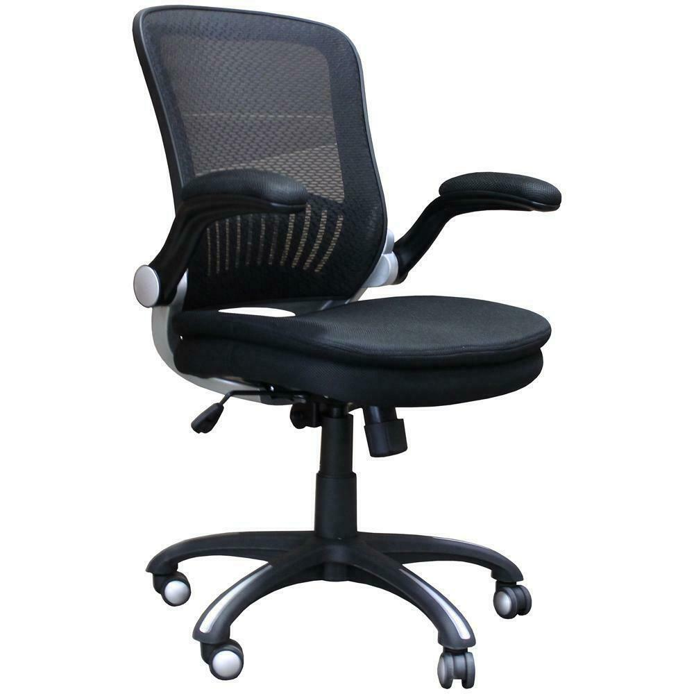 See Details - DC#301-BLK - DESK CHAIR Fabric Desk Chair