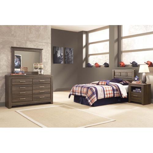 Juararo Bedroom Mirror Dark Brown