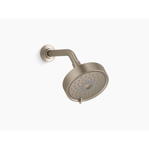 Vibrant Brushed Bronze 2.5 Gpm Multifunction Showerhead With Katalyst Air-induction Technology