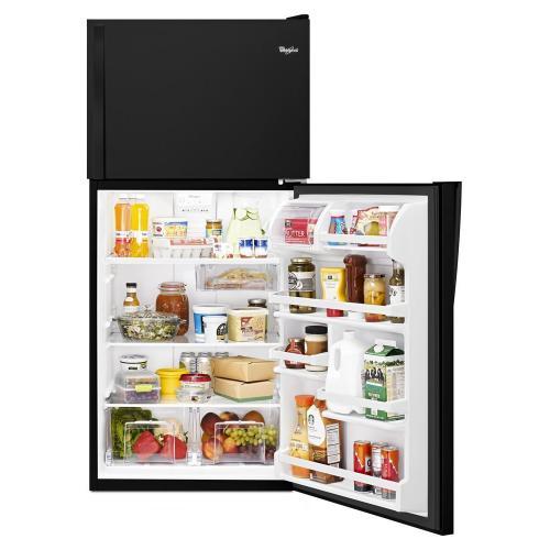 "Whirlpool Canada - Whirlpool® 30"" Wide Top-Freezer Refrigerator with Flexi-Slide Bin"