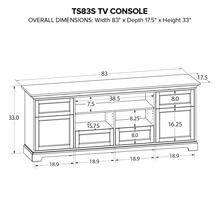 TS83S Custom TV Console