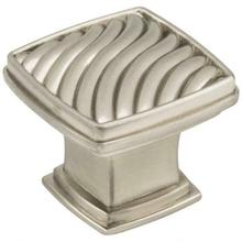 """See Details - 1-3/16"""" Overall Length Wave Encada Cabinet Knob"""