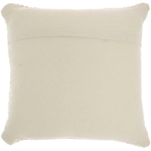 "Life Styles Dl881 Blush 20"" X 20"" Throw Pillow"